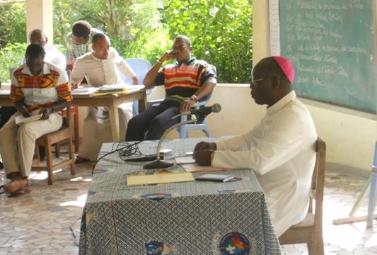 TRICENTENAIRE DE LA NAISSANCE AU CIEL  DE SAINT JEAN BAPTTE DE LA SALLE CELAF-INSTITUT Abidjan, vendredi 10 mai 2019