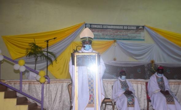 Congrès extraordinaire du clergé ivoirien  Jeudi 09 Juillet 2021